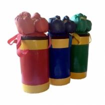 Набор боксерский детский № 2 (зелёный;синий;красный)