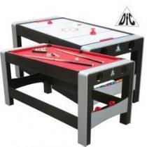 Игровой стол DFC FERIA 2 в 1 трансформер (165 х 78,75 х 78,75 см)