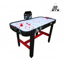Игровой стол DFC Praga аэрохоккей / 4 фута (122 х 61 х 79 см)